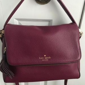 kate spade satchel with convertible cross body